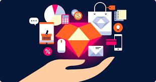 Mengimplementasikan pemrograman terstruktur berorientasi objek dengan menggunakan library dalam pembuatan website E commerce dengan ruby on rails sebagai pengembang web